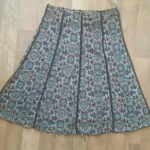 Gorgeous woman's skirt